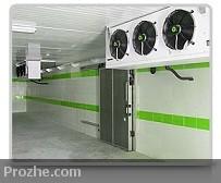 پروژه طراحی سیستم سردخانه